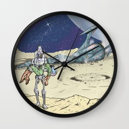 Steel Rescue Wall Clock