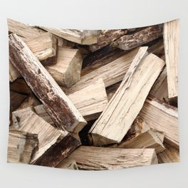Firewood Wall Tapestry