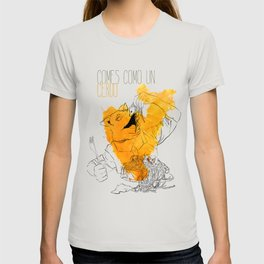 Comes como un cerdo (you eat like a pig) T-shirt