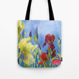 Blue Skies and Happiness Tote Bag
