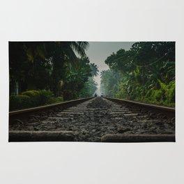 Railroad Track Rug