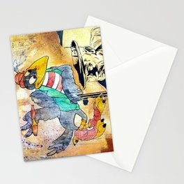 Crow Trouble Stationery Cards