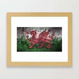 Welsh Dragon Framed Art Print
