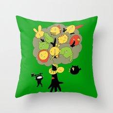 The Ninja Assassin Throw Pillow