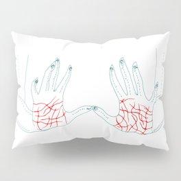 Sharp Hands Pillow Sham