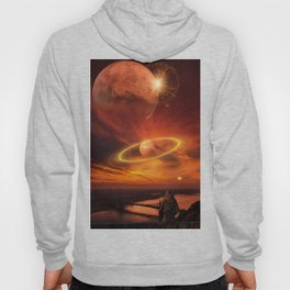The Planets Cosmos Girl by GEN Z Hoody