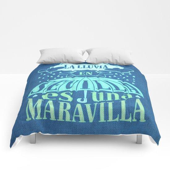 La lluvia en Sevilla es una maravilla Comforters