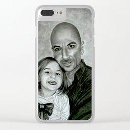 Leonard Willis 4 Clear iPhone Case