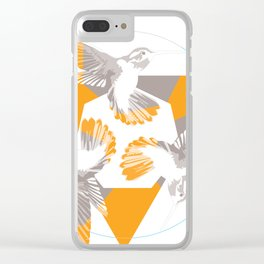 Humming Birds Clear iPhone Case