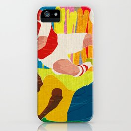 Deciding Game. iPhone Case