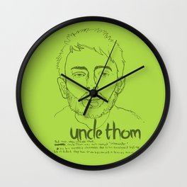 Uncle Thom Wall Clock