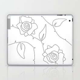 Rose Bush Laptop & iPad Skin