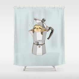Slopresso Shower Curtain