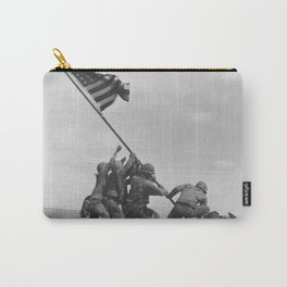 Iwo Jima Flag World War 2 Vintage Carry-All Pouch