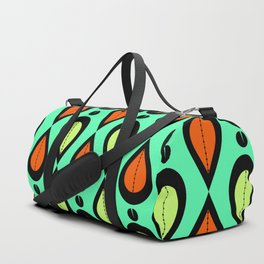 Dance With Me Mid-Century Modern Design Duffle Bag
