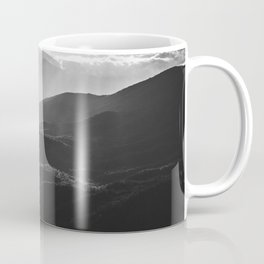 Sunrise in North Georgia Mountains BW #blackwhite Coffee Mug