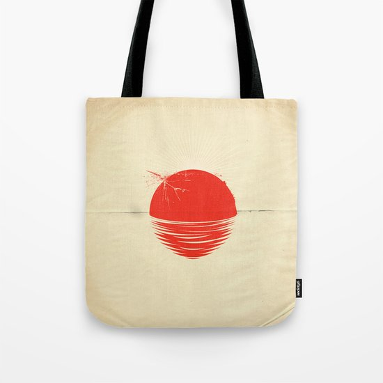 "Japan relief poster/all proceeds will go to ""Peace Winds"" Tote Bag"