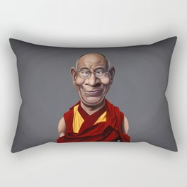 Celebrity Sunday ~ Dalai Lama Rectangular Pillow