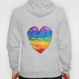 rainbow love Hoody