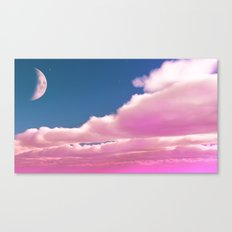 And The Moon Speaks Canvas Print