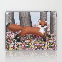 fox and squirrel Laptop & iPad Skin