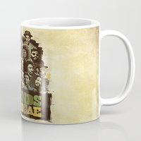 reggae Mugs featuring Legends of Reggae Poster by Panda
