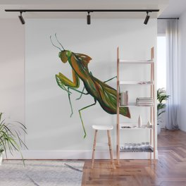 The Leaf Mantis Wall Mural