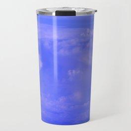 Aerial Blue Hues IV Travel Mug