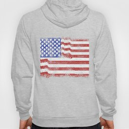 Guitar American Rock Gift US Flag Rock Guitars Concert Music Festival Hoody
