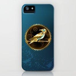 Mechanical Bird ( Steampunk ) iPhone Case