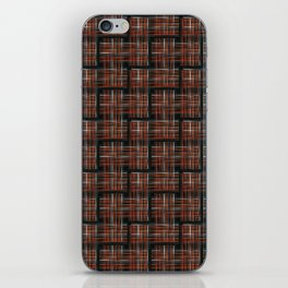 Abstract Criss Cross Weave iPhone Skin