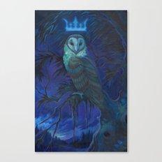 Owl Spirit Canvas Print