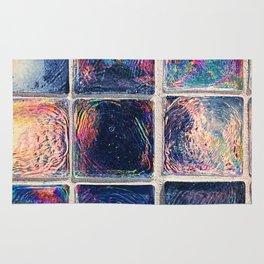 Iridescent Squares Rug
