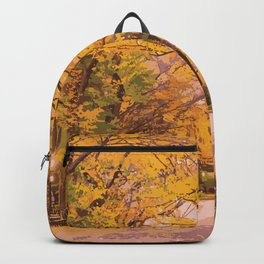Autumn in Central Park Backpack