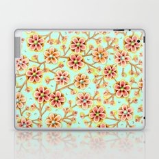 Candy Apple Blossom Aqua Laptop & iPad Skin
