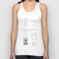 cameras Tank Tops featuring cameras by steffaloo