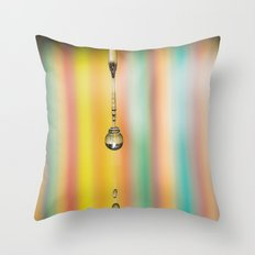 Drip Drop Throw Pillow