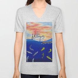 Sailor's Delight Unisex V-Neck