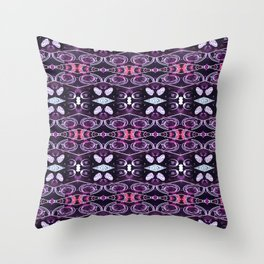 Jewel Glow Throw Pillow