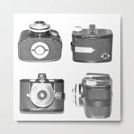 AGFA Clack Camera Metal Print