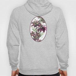 Tropical Leaves Sing Hoody