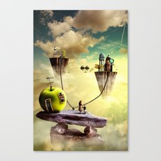 The place to be Canvas Print