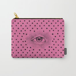 Star Eye Print Carry-All Pouch