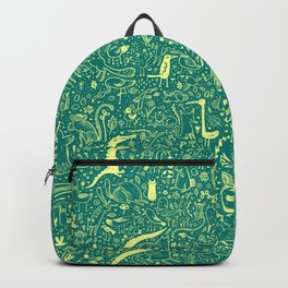 Scattered Critters Pattern Backpack