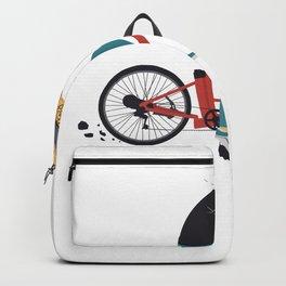 Hipster Opa E-Bike Backpack