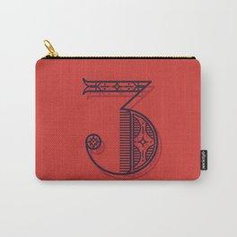 Alphabet Drop Cap Series Carry-All Pouch