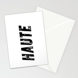 Haute (High) Stationery Cards