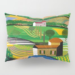 Lavender Farm Pillow Sham