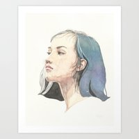 She (1 of 5) Art Print
