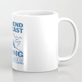 Weekend forecast hiking Coffee Mug